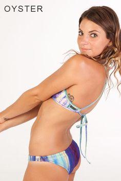 MALLYCE x JOLYN COLLAB TRIANGLE TOPS #mallyce  #jolynclothing #jolyn #swimwear #tiedye $35 jolynclothing.com