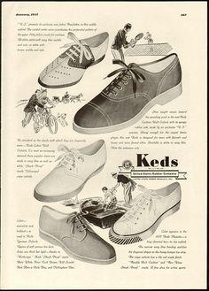 1937 Keds Shoes ad.