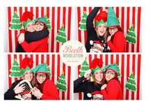 Booth Revolution Christmas photo booth backdrop - www.boothrevolution.co.uk