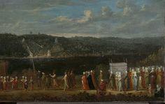 Türk Düğünü Jean Baptiste Vanmour (1671-1737) Tuval üzerine yağlıboya, yak. 1720-1737 Rijksmuseum Amsterdam