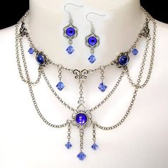 jewelry of medieval women | Juliet Medieval Necklace : Beautiful Medieval Renaissance Necklace ...