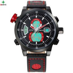 Find More Quartz Watches Information about 2016 Luxury Brand North Men Leather Quartz Watches Men's Waterproof Sport Wrist Watch Gents' Clock relogio masculino,High Quality relogio from Fashionwatch store on Aliexpress.com
