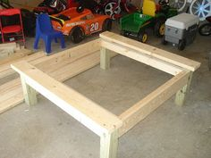 DIY Square Coffee Table · Big Coffee TablesOttoman ...