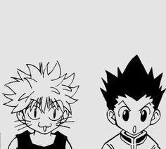 Hunter Anime, Hunter X Hunter, Manga Art, Anime Art, Anime Tattoos, Anime Stickers, Manga Covers, Killua, Hisoka