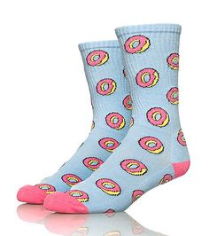 ODD+FUTURE+Donut+socks+Stretch+material+for+comfort+All-over+donuts+print