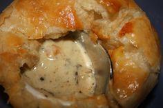 Mushroom pot pies