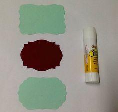 Kit com 3 etiquetas papel, vc vai receber um modelo de cada. <br>Verifique política loja para frete.