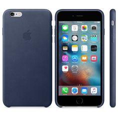 iPhone 6s Plus Leather Case - Black - Apple