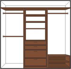 closest organization made easy, closet, organizing