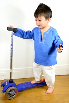 Mexican tunic for boys by Lolita le Chat