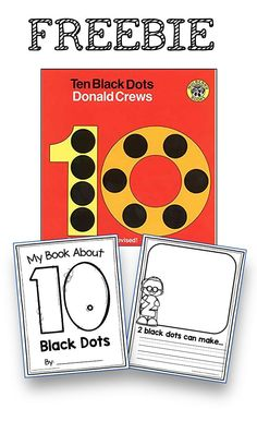 Adorable read aloud for math - practice numbers and counting plus 1:1 correspondence - read Ten Black Dots and then print this free activity so students can practice art - reading - math and creativity! This is perfect for back to school or anytime in kindergarten - pre-k - transitional kindergarten or preschool #kindergartenmath #prekmath #preschoolmath Fun Math Activities, Preschool Activities, Montessori Preschool, Montessori Elementary, Elementary Teaching, Kindergarten Freebies, Cardinality Kindergarten, Teaching Kids, Teaching Tools