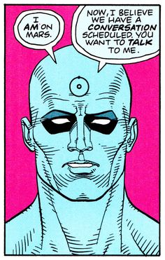 WATCHMEN - Art by Dave Gibbons & John Higgins Words by Alan Moore
