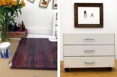 para renovar muebles de melamina!