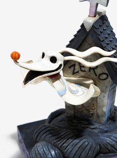 The Nightmare Before Christmas Zero Doghouse Resin Figurine,