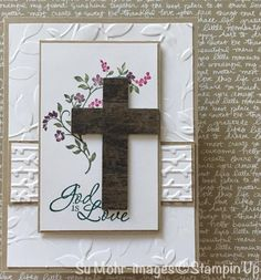 Confirmation Cards, Baptism Cards, Christian Cards, Scripture Cards, Easter Card, Get Well Cards, Pretty Cards, Sympathy Cards, Stamping Up