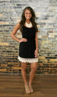 The Pink Lily Boutique - Bound To You Black Dress, $38.00 (http://thepinklilyboutique.com/bound-to-you-black-dress/)