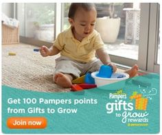 15 FREE Pampers Gifts to Grow Points (Updated)! New 5 point code ...
