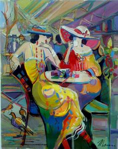 Isaac Maimon (b1971), France ~ Though strongly influenced by the Paris school of…