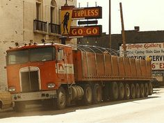 Kenworth K-100 centipede by PAcarhauler, via Flickr