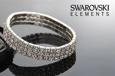 Add some extra sparkle to any outfit with this Swarovski stunner.