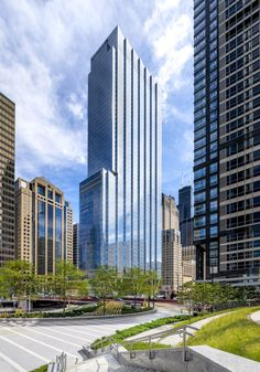 110 North Wacker Drive Office Building / Goettsch Partners   ArchDaily