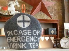 Incase of emergency tea cosy.