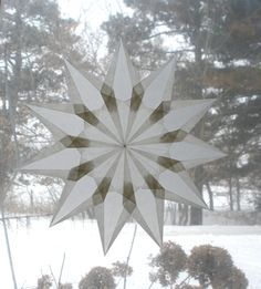 11+Point+Waldorf+Inspired+Window+Star+by+harvestmoonbyhand+on+Etsy,+$12.00