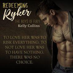 Redeeming Ryker, Kelly Collins, New Adult Romance, Bookboost, Excerpt