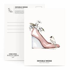 """<p>""""Iconic Shoes Postcards"""" is a new box of watercolour illustrations by Portuguese Antonio Soares. Featuring some of the most iconic designs, the cards show exquisite footwear in complete"""
