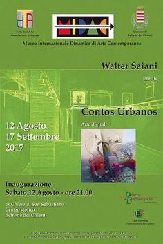 Belforte del Chienti continua la mostra personale Contos Urbanos dellartista brasiliano Walter Saiani