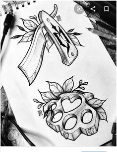 Desenho Tattoo, Pencil Drawings, Colored Pencils, Old School, Human Figures, T Shirts, Illustrations, Art, Colouring Pencils