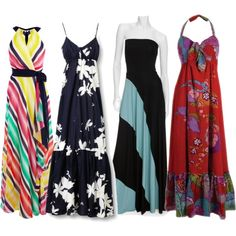 Styling with Maxi Dresses and Skirts!  http://www.itsoverflowing.com/2012/05/styling-with-maxi-skirts-and-dresses.html