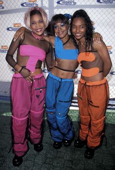 Crazy Sexy Cool: A Look Back at Some of TLC's Most Iconic Fashion Moments..... this is an awesome costume idea!