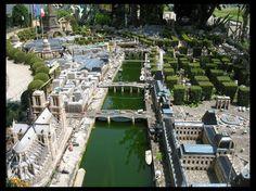 Miniature Paris City Model At The Backyard Tilt Shift Photography, City Model, Fantasy City, Paris City, Cities, Miniatures, Backyard, Exterior, Models