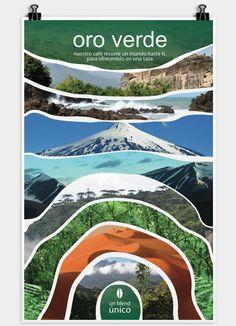 Graphic Design Ad and Visual Identity for Salzillo tea and coffee