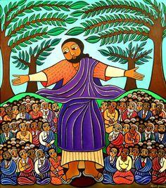 Image result for sermon on the mount black jesus