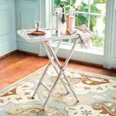 Rivoli Butler's Tray Table | European-Inspired Home Furnishings | Ballard The townhous  e 'I Want' list . . .