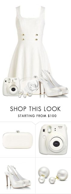 """""""All White Everything"""" by tlb0318 on Polyvore featuring Lauren Ralph Lauren, Fujifilm, Fratelli Karida and Allurez"""