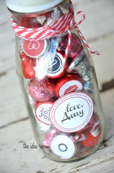 "Adorable ""Bottled with Love"" gift idea!"