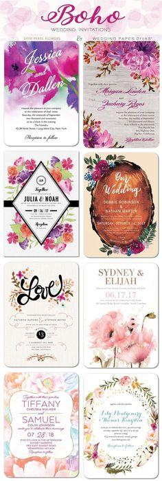 Top 8 Themed Wedding Paper Divas Wedding Invitations & Promo Codes 2017 - Deer Pearl Flowers / http://www.deerpearlflowers.com/wedding-paper-divas-wedding-invitations/
