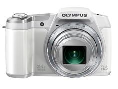 Olympus Stylus SZ-16 iHS Digital Camera with 24x Optical Zoom and 3-Inch LCD (White), Best Gadgets