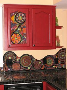 kid's mosaic projects | Diy Backsplash Ideas For Kitchens | Decozilla