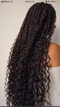 Braids Hairstyles Pictures, Faux Locs Hairstyles, Black Girl Braided Hairstyles, African Braids Hairstyles, Hair Pictures, Braids With Curls, Braids For Black Hair, Girls Braids, Curly Hair Styles