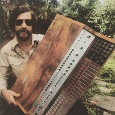 MATRIXSYNTH: Don Buchla with His 400 & More Vintage Synth Pics ...