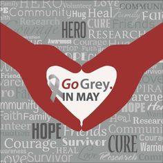 May is brain tumor & brain cancer awareness month