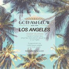 Get #OscarReady with Tamar Vezirian, Founder & CEO of #GothamGlow! Tamar, celebrity #airbrush tanner, will be in the Los Angeles area 2/17-2/22 & 2/26 offering mobile on-location appointments. Glow like the A-listers on the red carpet and book yourself a Gotham Glow with Tamar….You won't regret it! #RedCarpet #Oscars #AcademyAwards #LosAngeles #LA #Skin #Glow #MobileTans