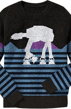 AT-AT Star Wars Sweater: Star Wars Mens Sweater