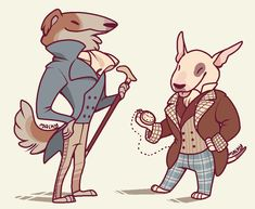"""malkshake: """"I sometimes get this itch of drawing dogs in fancy clothing. Pretty Art, Cute Art, Animal Drawings, Cool Drawings, Furry Drawing, Anthro Furry, Creature Design, Character Design Inspiration, Furry Art"""