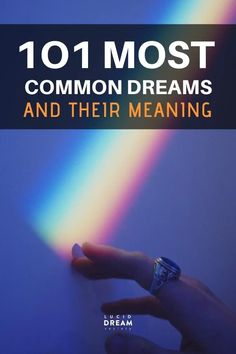 Ultimate list with the TOP 101 most common dream symbols and their interpretation.Find the meaning of your dreams & how to get the most out of your dreams. Lucid Dreaming Dangers, Lucid Dreaming Tips, Dream Book, Dream Art, What Are Dreams, Dream Dictionary, Dream Symbols, Dream Meanings