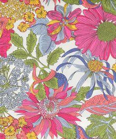 "Liberty of London ""Angelica Garla"" Tana Lawn Print, 54"" (5-1-13)"